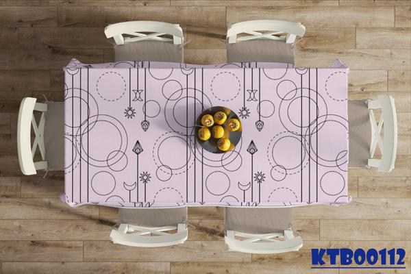 Khăn bàn hình chữ nhật
