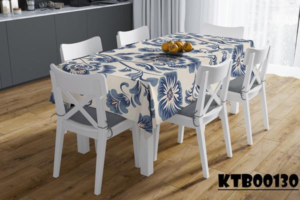 Thảm trải bàn ăn i họa tiết hoa lá