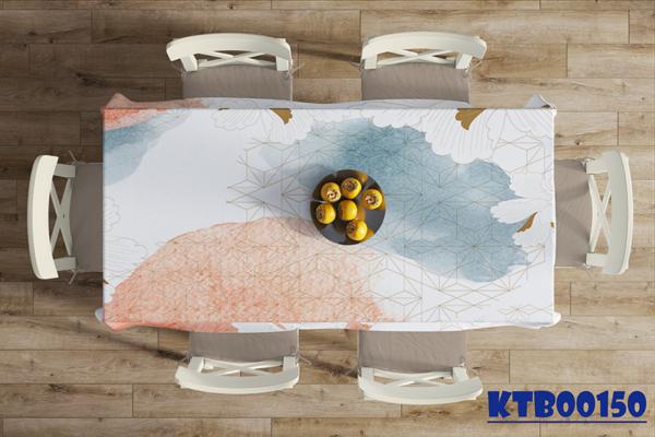 Khăn trải bàn in màu