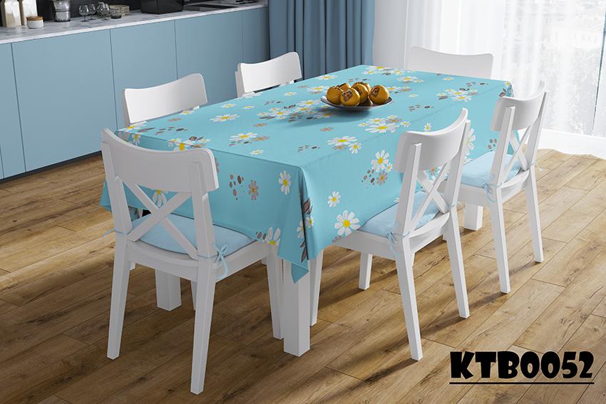 Mẫu khăn trải bàn ăn đẹp