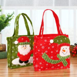 Túi vải bố làm quà tặng giáng sinh